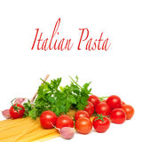 Pasta preparation Royalty Free Stock Photo