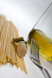 Pasta preparations Stock Image