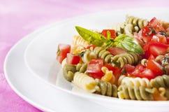 Pasta primavera Royalty Free Stock Image