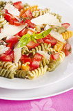 Pasta primavera Royalty Free Stock Photo