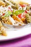 Pasta primavera Royalty Free Stock Photo