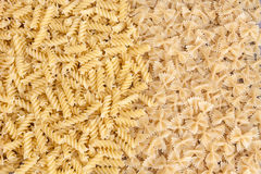 Pasta products background Stock Photos