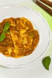 Pasta Ravioli Sorrentina Stock Photography