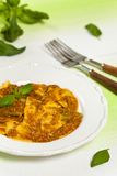 Pasta Ravioli Sorrentina Royalty Free Stock Photography
