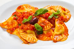 Pasta Ravioli Stock Photos