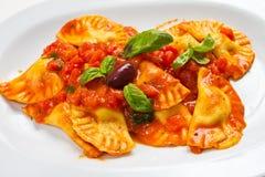 Pasta Ravioli Stock Photos