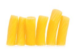 Pasta raw Stock Images