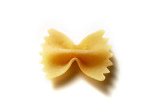 Pasta ribbon Stock Photography