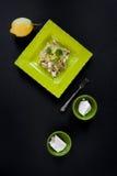 Pasta Ricotta Lemon Zest Royalty Free Stock Image