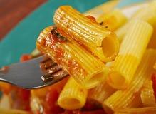 Pasta Rigaton Royalty Free Stock Image