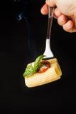 Pasta Rigatoni Fotografia Stock