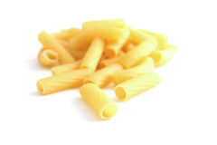 Pasta rigatoni Stock Photos