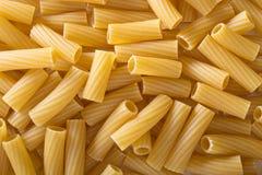 Pasta rigatoni background Stock Photography