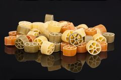 Pasta rings Stock Photography