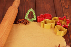 Pasta rodada Foto de archivo libre de regalías