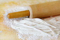 Pasta and Roller Stock Images