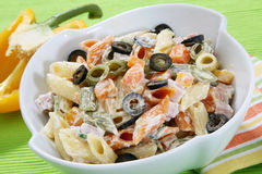 Pasta Salad Royalty Free Stock Image