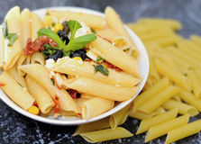 Pasta salad Royalty Free Stock Images