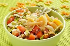 Pasta salad Royalty Free Stock Image