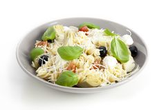 Pasta Salad Isolated Royalty Free Stock Photos