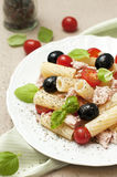 Pasta salad with tuna Stock Photos