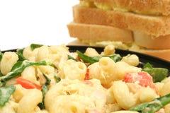 Pasta & sandwiches Royalty Free Stock Photo