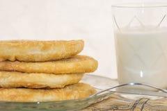 Pasta saporita su un piatto Immagine Stock