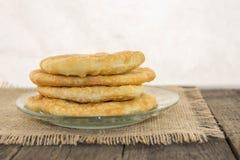 Pasta saporita su un piatto Fotografie Stock
