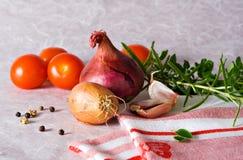 Pasta Sauce ingredients Stock Images
