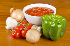 Pasta Sauce Ingredients #3 Royalty Free Stock Photography