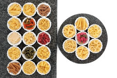 Pasta Selection Stock Images