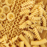 Pasta Selection Royalty Free Stock Photo