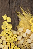 Pasta Selection Royalty Free Stock Photography