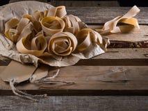 Pasta semilavorata fotografia stock