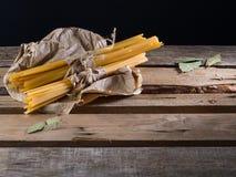 Pasta semilavorata Immagini Stock