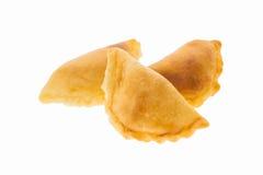 Pasta sfoglia del curry Immagine Stock