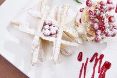 Pasta sfoglia dolce Fotografie Stock