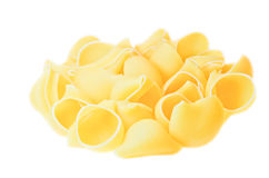 Pasta shells Royalty Free Stock Image