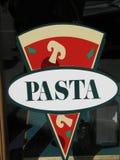 Pasta sign Stock Photo
