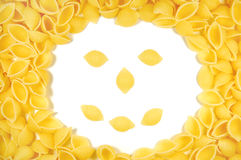 Pasta smile Stock Photos