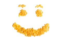 Pasta smile Stock Photo