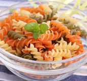 Pasta. Some colorful pasta in a bowl Stock Photo