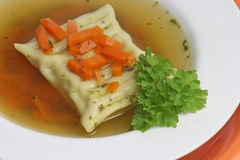 Pasta Soup Royalty Free Stock Photo
