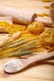 Pasta and spaghett Royalty Free Stock Photo