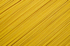Pasta Spaghetti. A full frame image of uncooked spaghetti pasta Royalty Free Stock Image