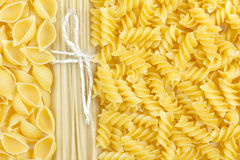 Pasta and spaghetti Royalty Free Stock Photo