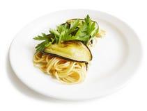 Pasta Spaghetti Alla Norma Stock Photos