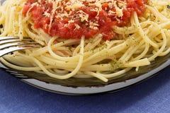 Pasta spaghetti macaroni Stock Photography