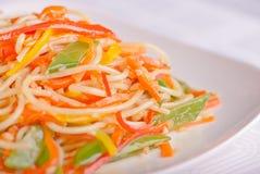 Pasta spaghetti noodle Royalty Free Stock Image