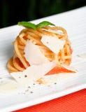 Pasta / Spaghetti with tomato sauce Royalty Free Stock Photos